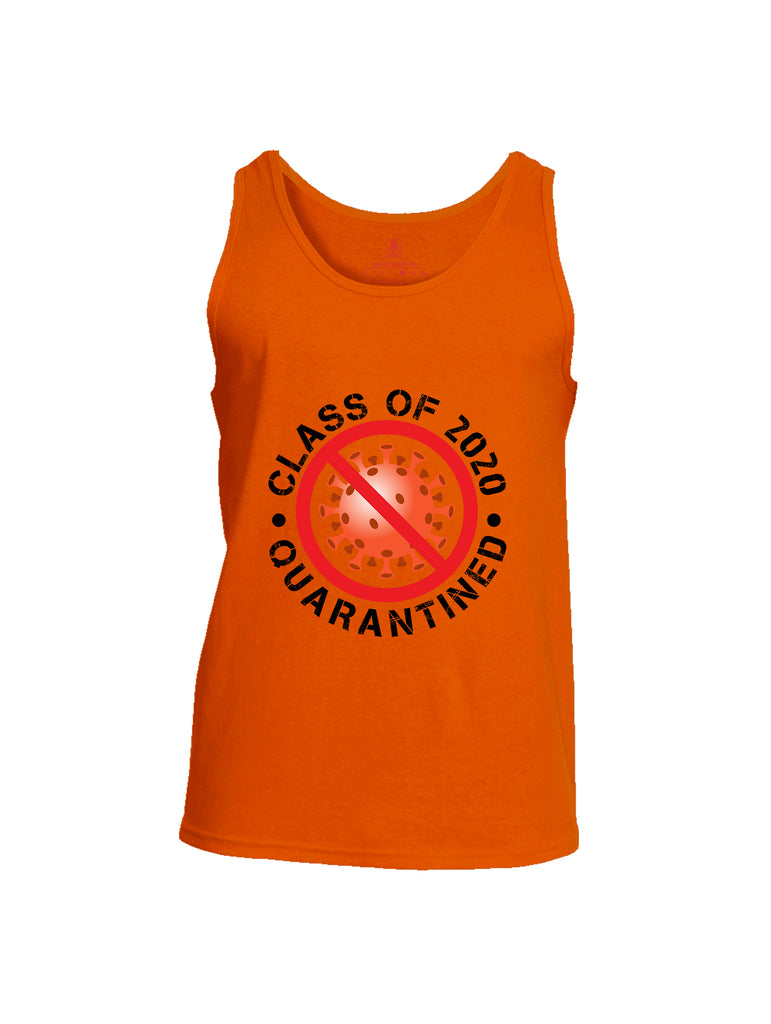 Battleraddle Class Of 2020 Quarantined Mens Cotton Tank Top