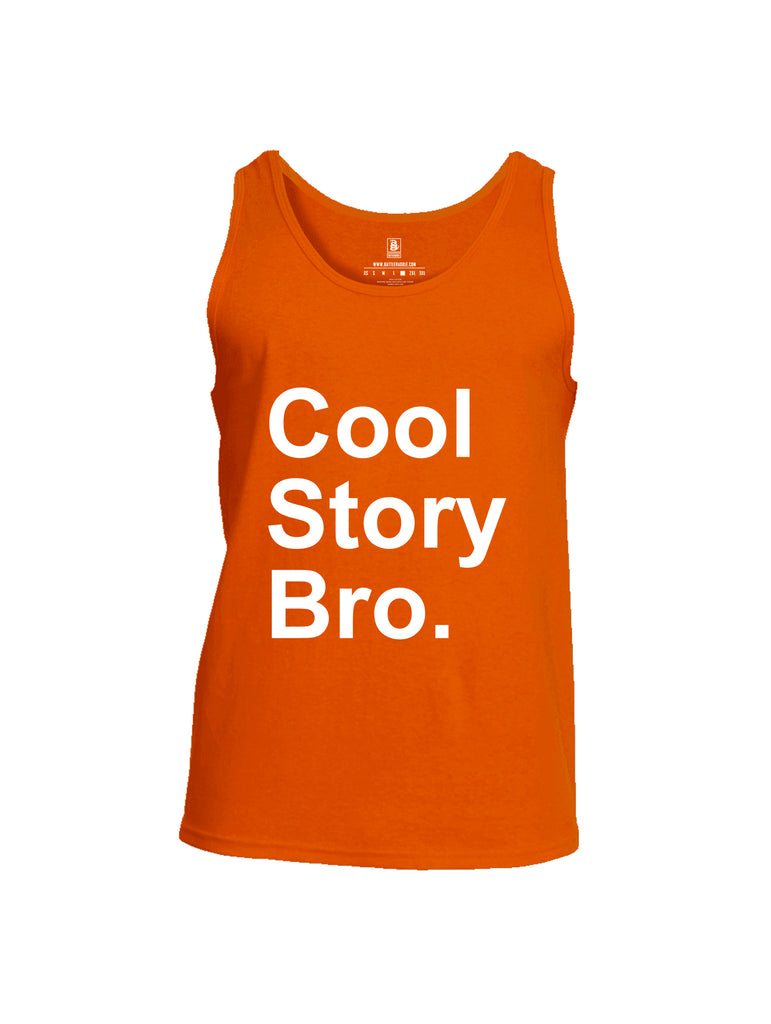Battleraddle Cool Story Bro Mens Cotton Tank Top