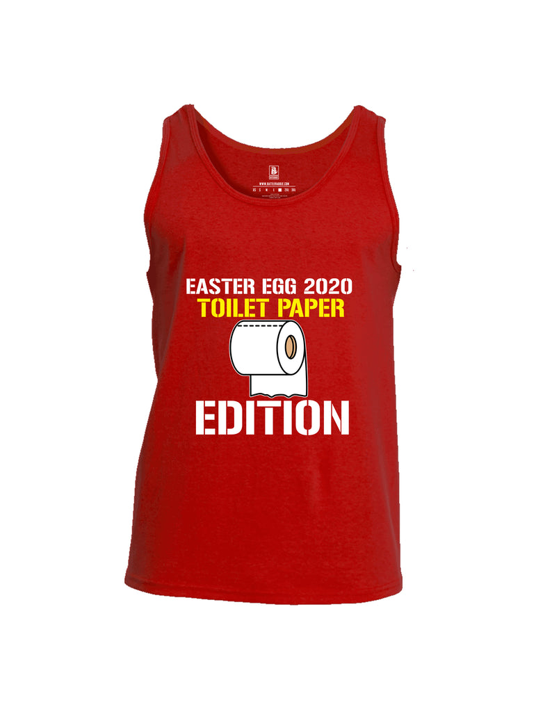 Battleraddle Easter Egg 2020 Toilet Paper Edition Mens Cotton Tank Top