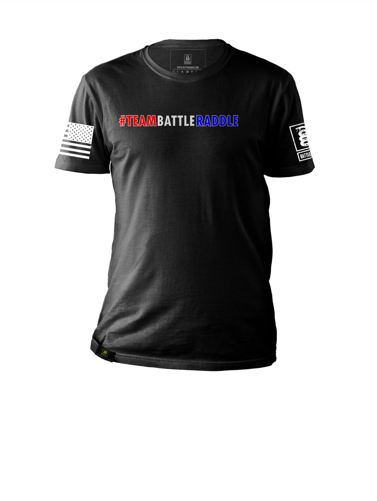 Battleraddle #Teambattleraddle Mens Cotton Crew Neck T Shirt - Battleraddle® LLC