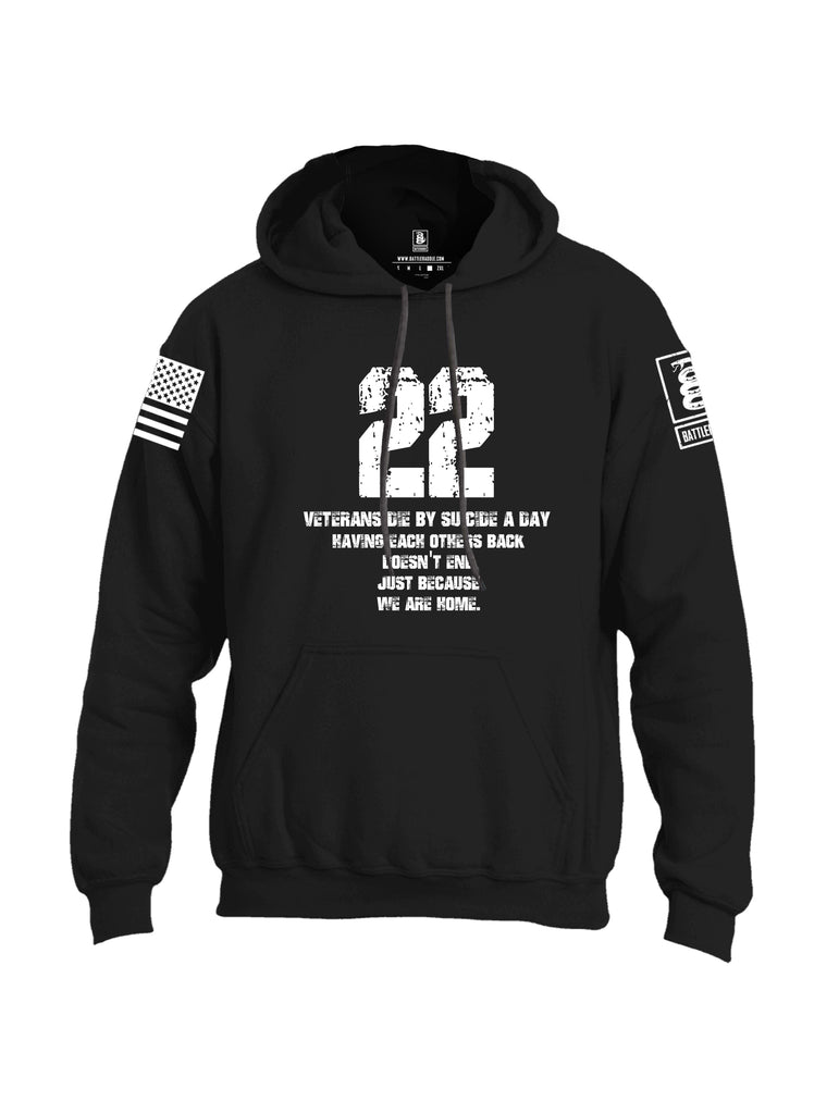 Battleraddle 22 A Day Uni Cotton Blended Hoodie With Pockets