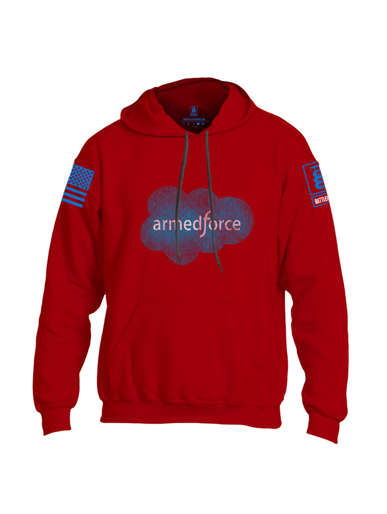 Battleraddle Armedforce Uni Cotton Blended Hoodie With Pockets