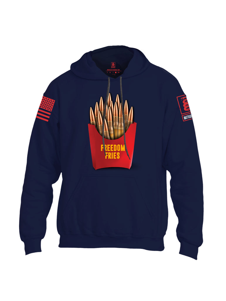 Battleraddle Freedom Fries Uni Cotton Blended Hoodie With Pockets