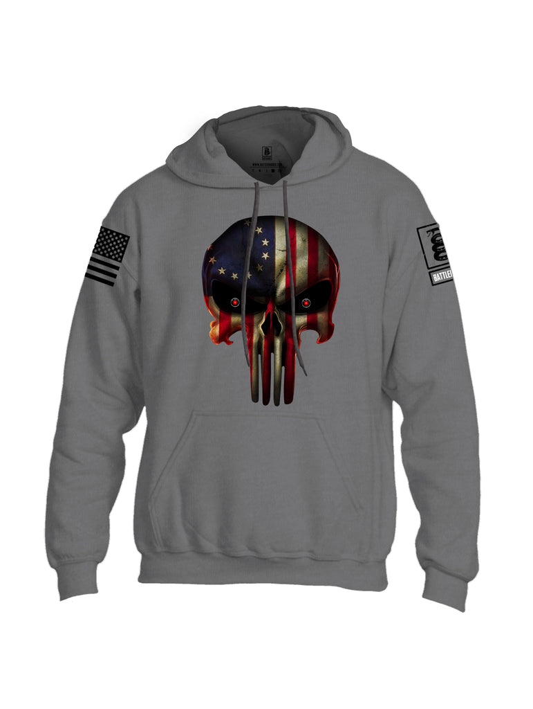 Battleraddle Expounder Colony Flag Black Sleeve Print Mens Blended Hoodie With Pockets