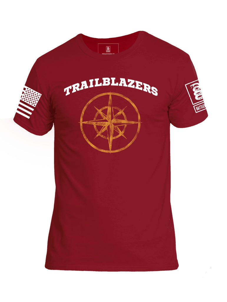 Battleraddle Trailblazers Lieutenant Mens Cotton Crew Neck T Shirt