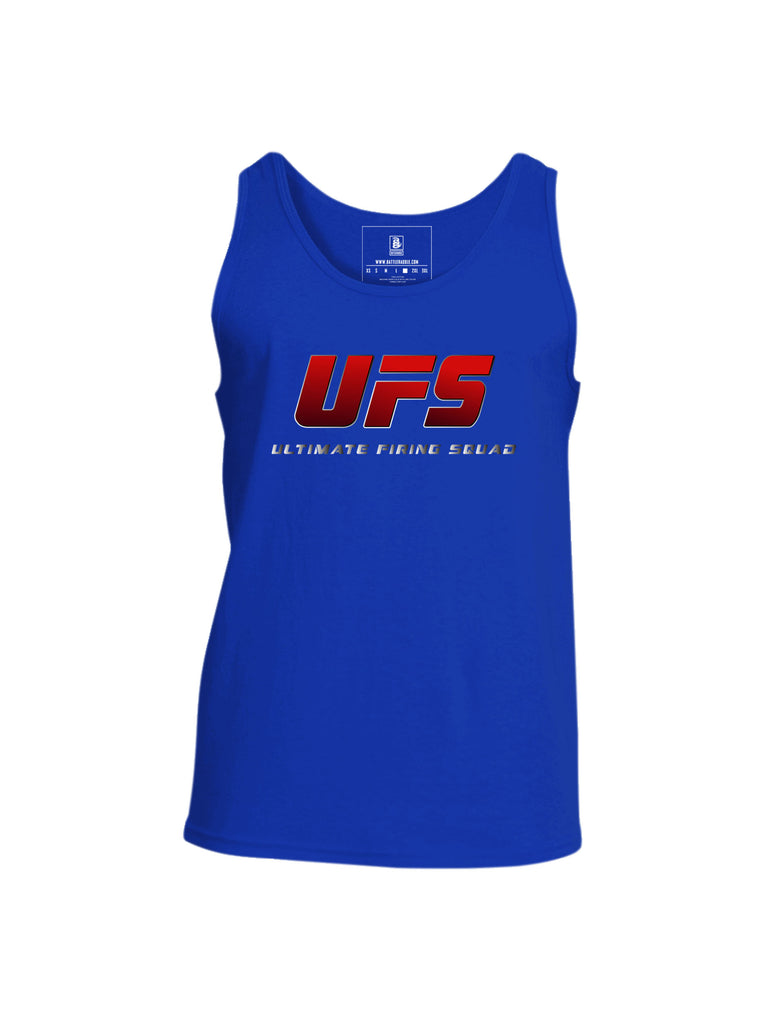Battleraddle UFS Ultimate Firing Squad Mens Cotton Tank Top