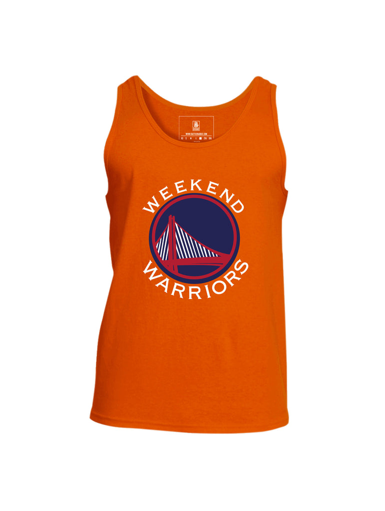 Battleraddle Weekend Warriors Mens Cotton Tank Top