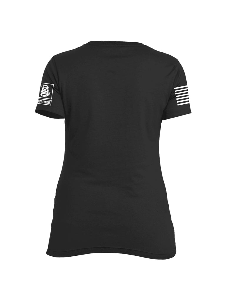 Battleraddle Operation American Dream Womens Cotton Crew Neck T Shirt
