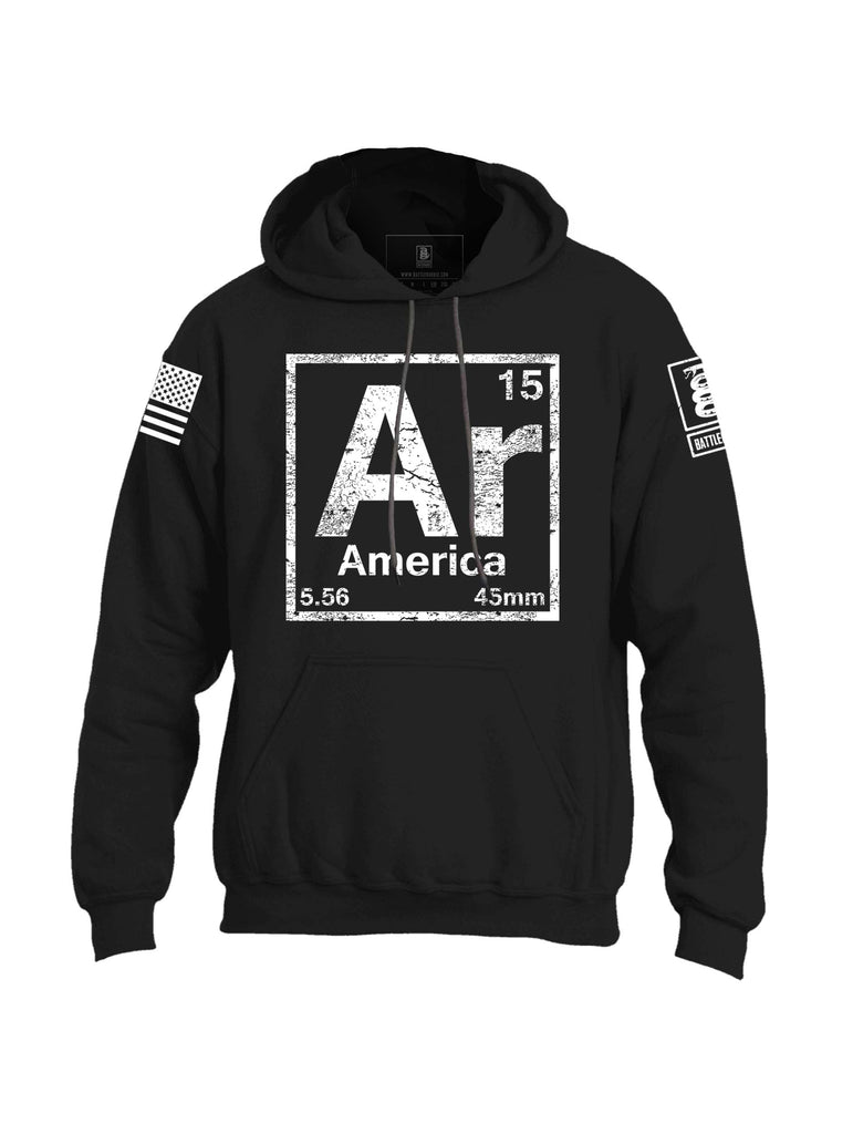 Battleraddle AR America Mens Blended Hoodie With Pockets - Battleraddle® LLC