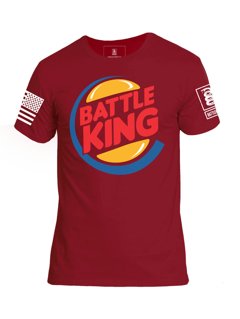 Battleraddle Battle King Mens Crew Neck Cotton T Shirt - Battleraddle® LLC