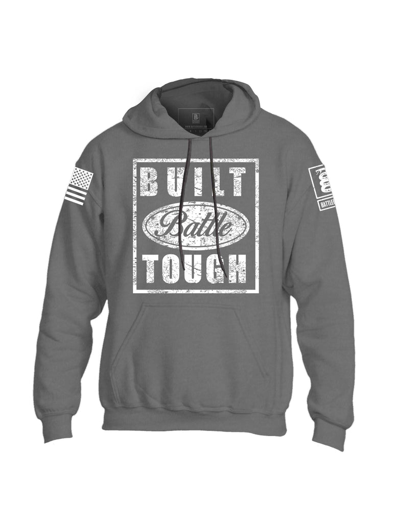 Battleraddle Built Battle Tough Mens Blended Hoodie With Pockets - Battleraddle® LLC