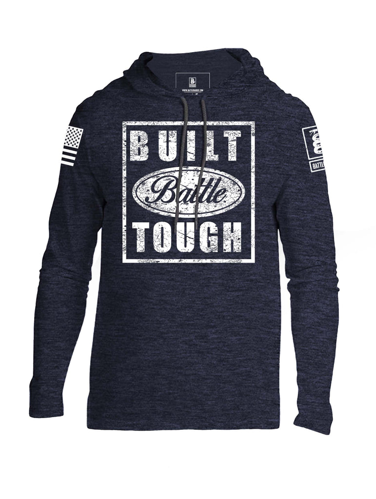 Battleraddle Built Battle Tough Mens Thin Cotton Lightweight Hoodie - Battleraddle® LLC