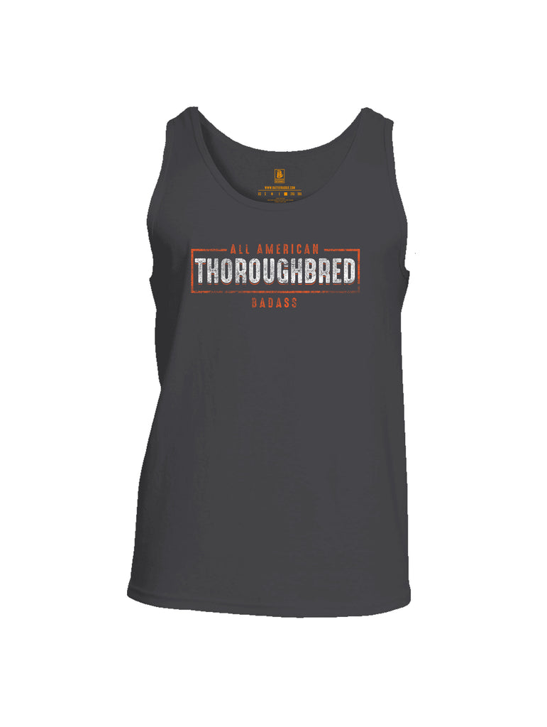 Battleraddle All American Thoroughbred Badass Mens Cotton Tank Top