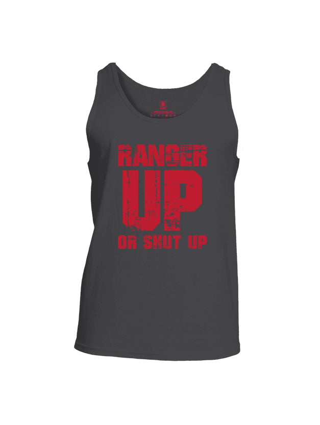 Battleraddle Ranger Up Or Shut Up Mens Cotton Tank Top