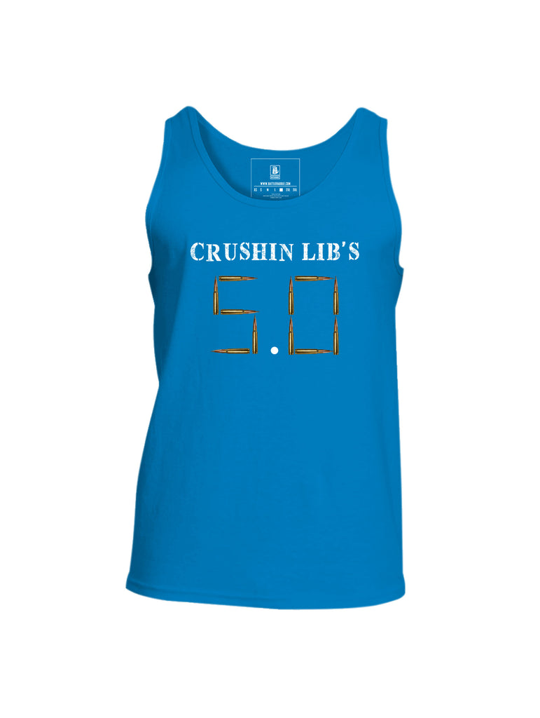 Battleraddle Crushin Lib's 5.0 Mens Cotton Tank Top