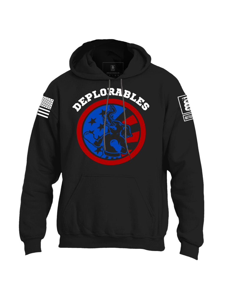 Battleraddle Deplorables Mens Blended Hoodie With Pockets