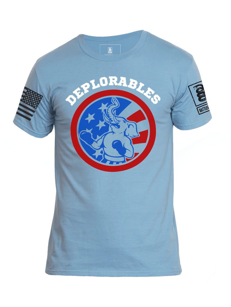 Battleraddle Deplorables Shitbag 69 Jersey Mens Cotton Crew Neck T Shirt