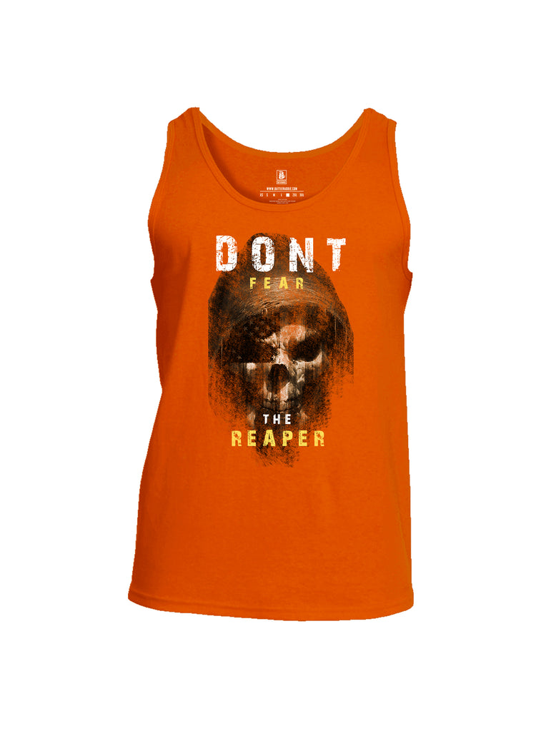 Battleraddle Dont Fear The Reaper Mens Cotton Tank Top