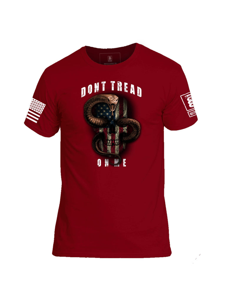 Battleraddle Dont Tread On Me Mens Cotton Crew Neck T Shirt