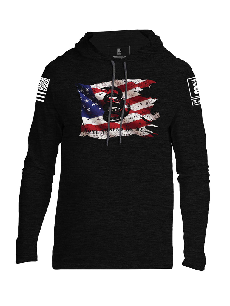 Battleraddle Dont Tread On Me Mens Thin Cotton Lightweight Hoodie