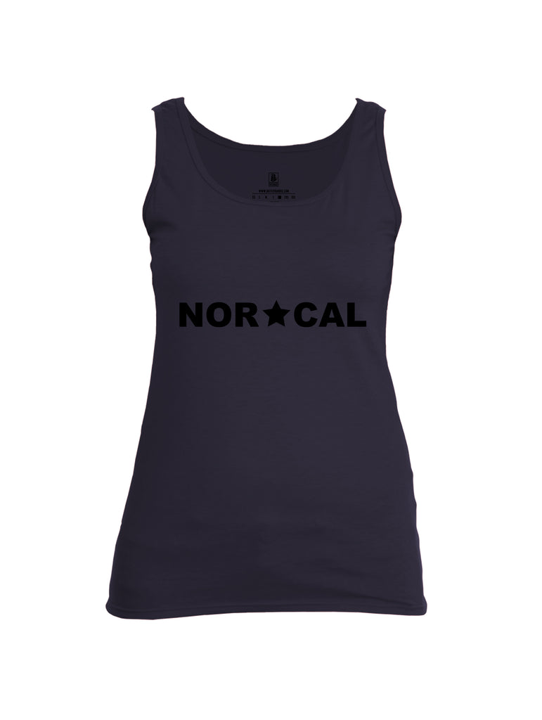 Battleraddle Nor Cal {sleeve_color} Sleeves Women Cotton Cotton Tank Top