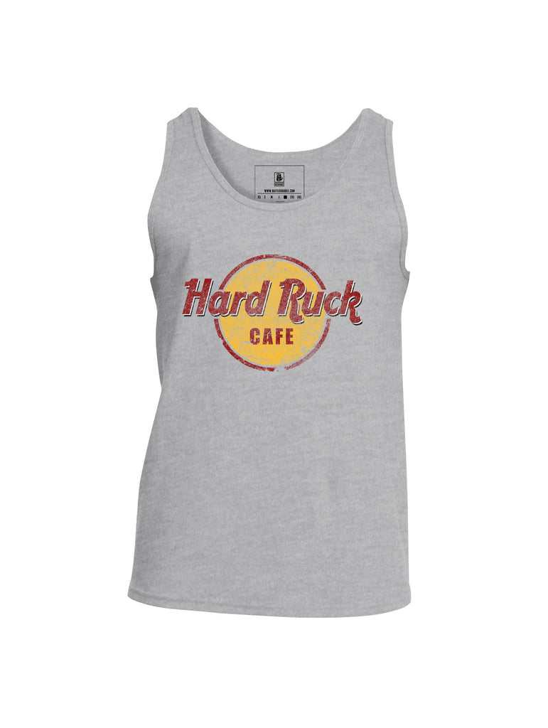 Battleraddle Hard Ruck Cafe Mens Cotton Tank Top