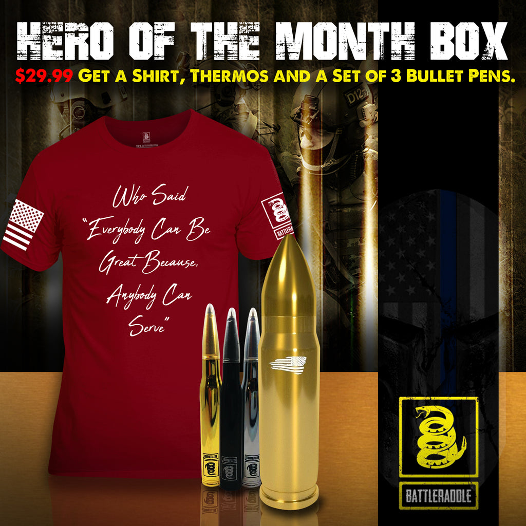 Hero Of The Month Box Nomination