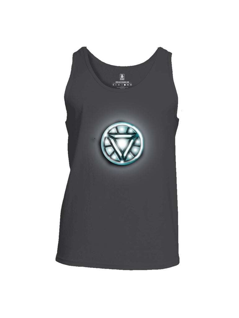 Battleraddle Iron Stark Chest ARC Reactor Mens Cotton Tank Top