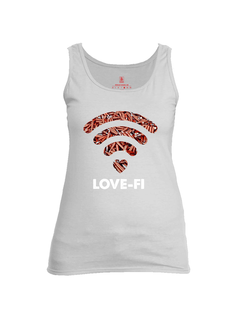 Battleraddle Love Fi Womens Cotton Tank Top