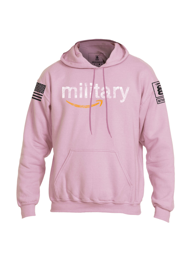 Battleraddle Military Mens Blended Hoodie With Pockets