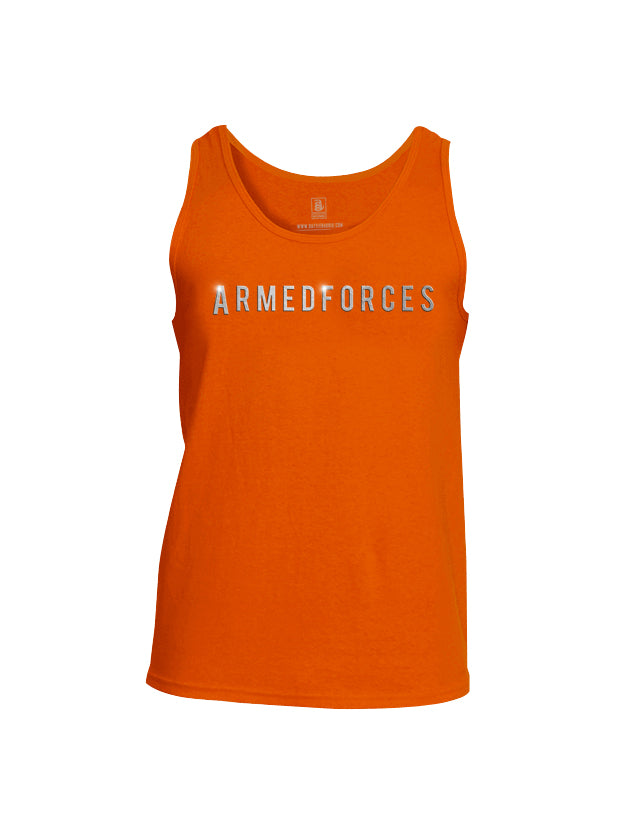 Battleraddle Armedforces Superpatriot Mens Cotton Tank Top
