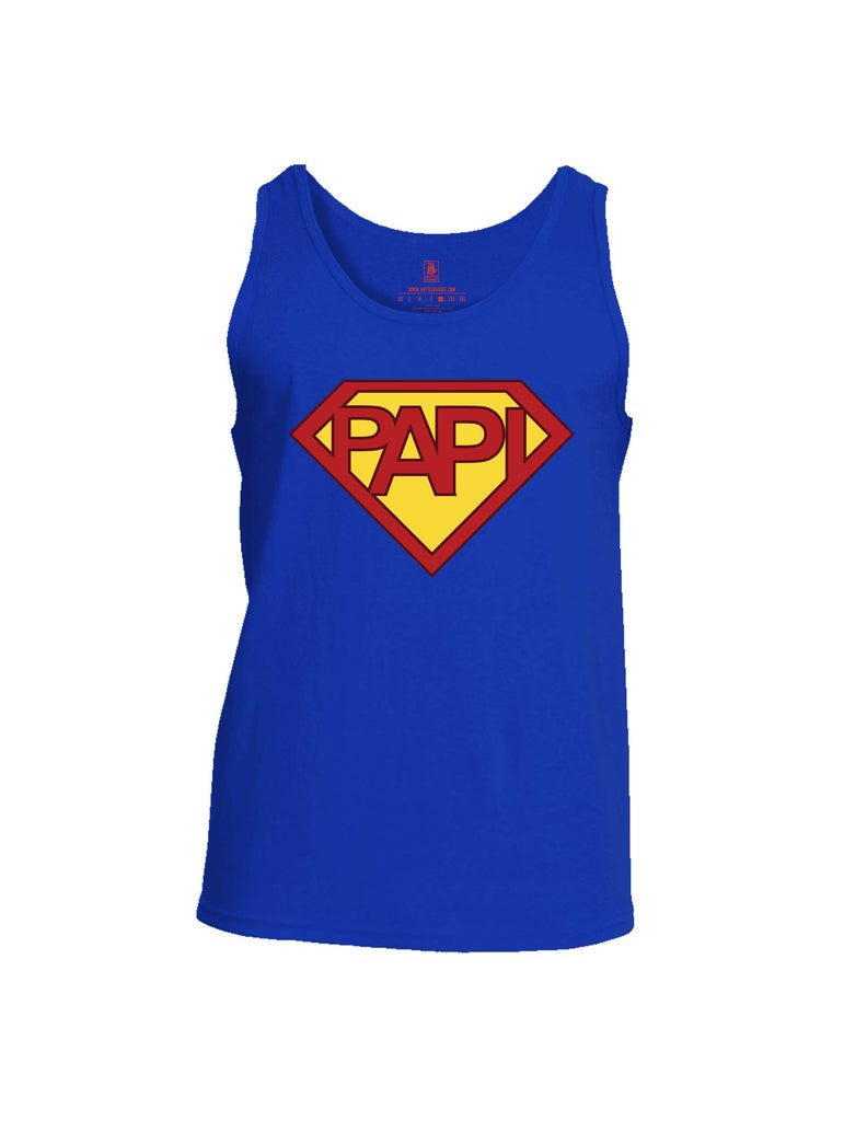 Battleraddle Papi Mens Cotton Tank Top