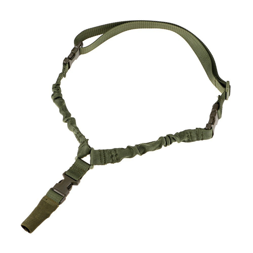 Battleraddle Military 1 Point Rifle Sling Strap Range Day Black Tan Army Green