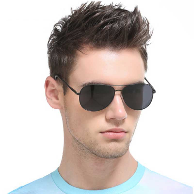 Battleraddle Night Driving Glasses Classic Men Vintage Polarized Sunglasses Male Brand Designer Pilot UV400