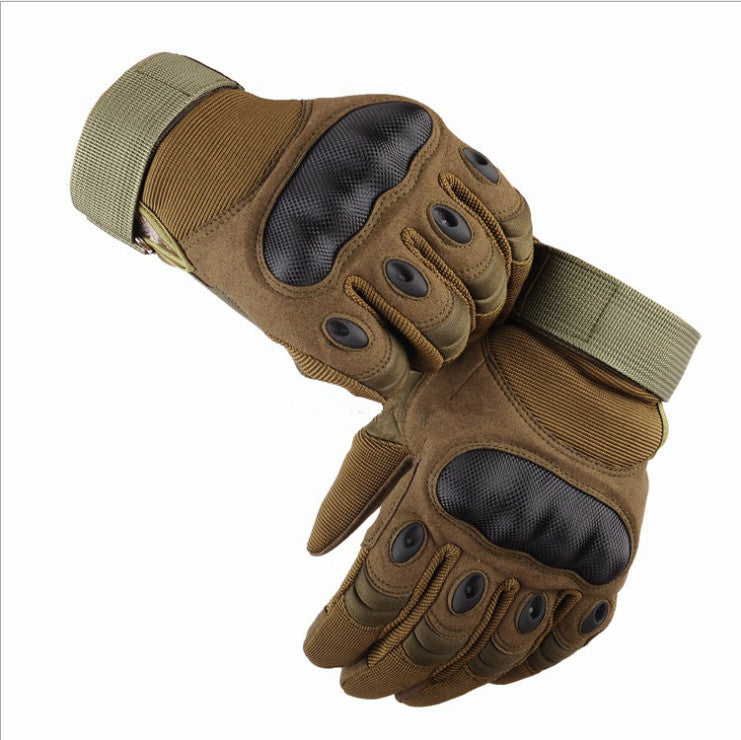 Battleraddle Tactical Polyester Spandex Hard Rubber Knuckle Gloves