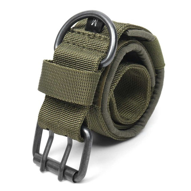 Battleraddle 1000D M/L/XL Nylon Tactical Dog Collar Harnesses Leads Military Adjustable with Metal D Ring Buckle