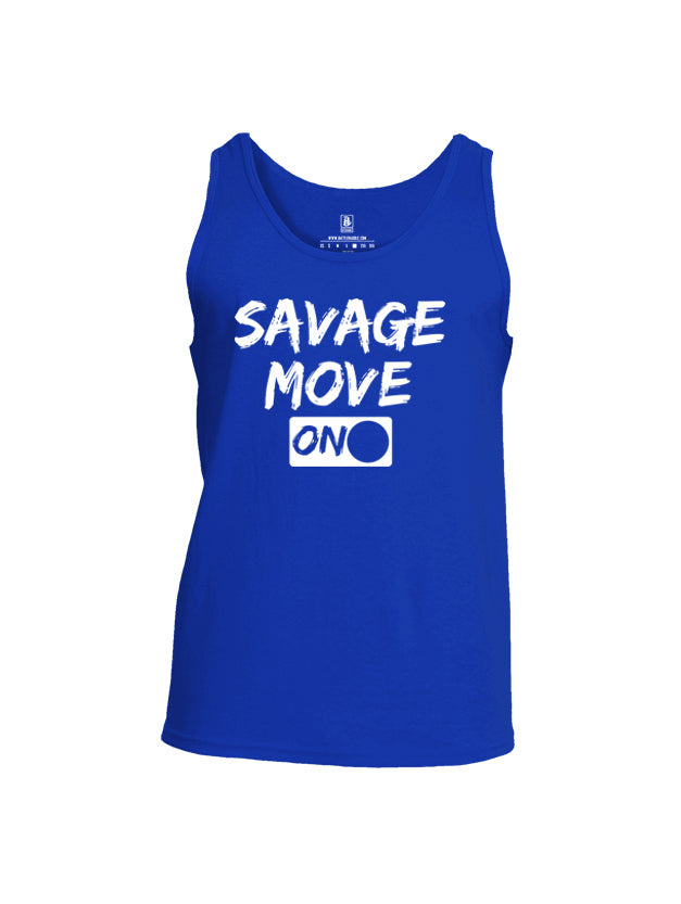 Battleraddle Savage Move On Mens Cotton Tank Top