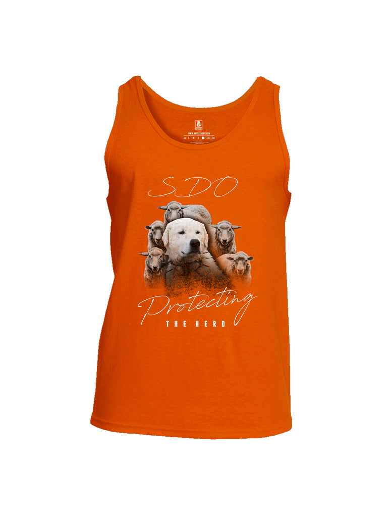Battleraddle SDO Protecting The Herd Mens Cotton Tank Top