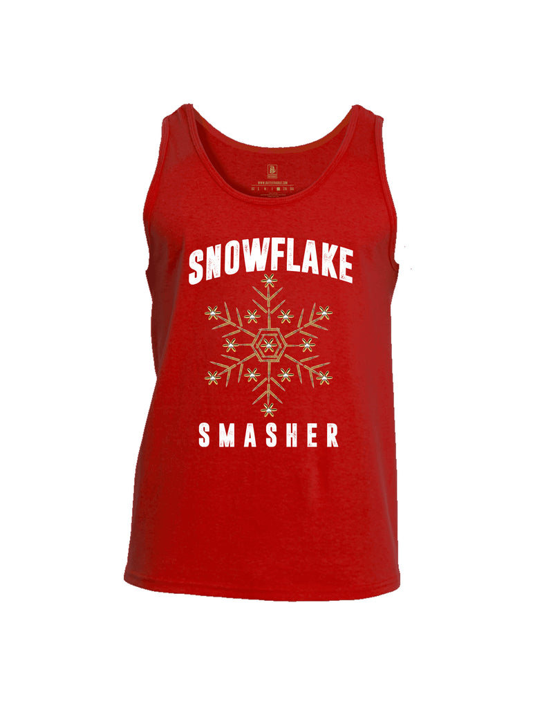 Battleraddle Snowflake Smasher Mens Cotton Tank Top