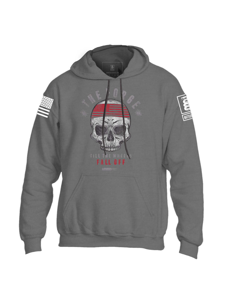 Battleraddle The Force Till The Wheels Fall Off Mens Blended Hoodie With Pockets