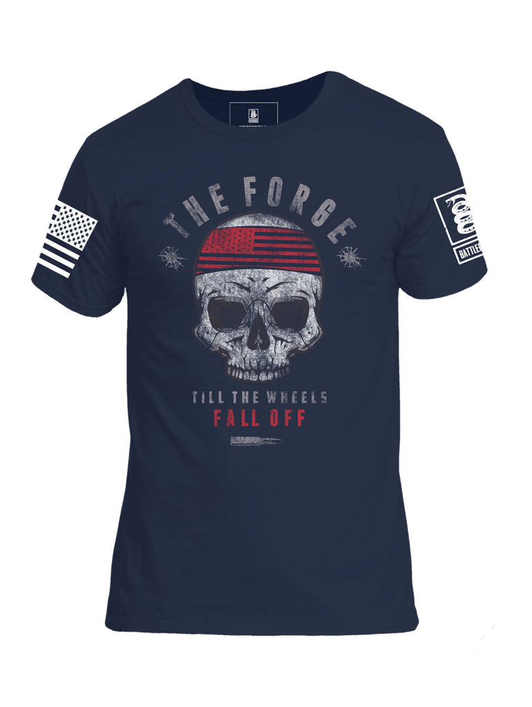 Battleraddle The Force Till The Wheels Fall Off Mens Crew Neck Cotton T Shirt