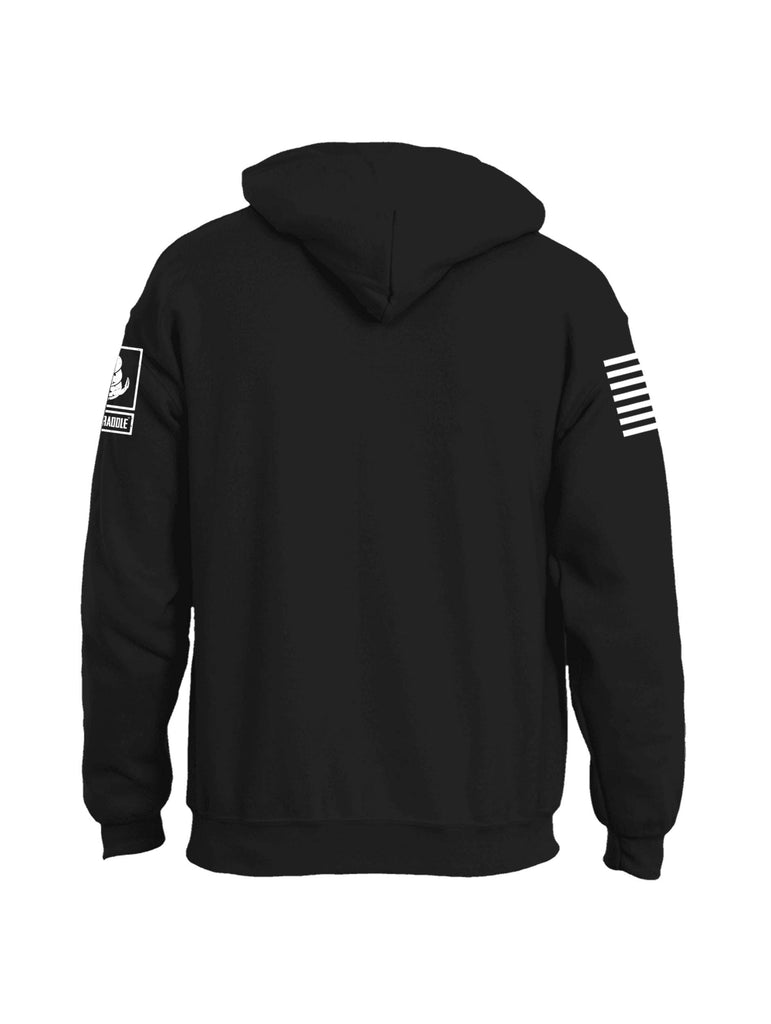 Battleraddle Death Punch Mens Blended Hoodie With Pockets
