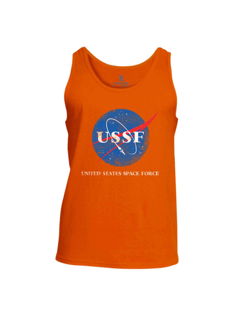 Battleraddle United States Space Force Mens Cotton Tank Top