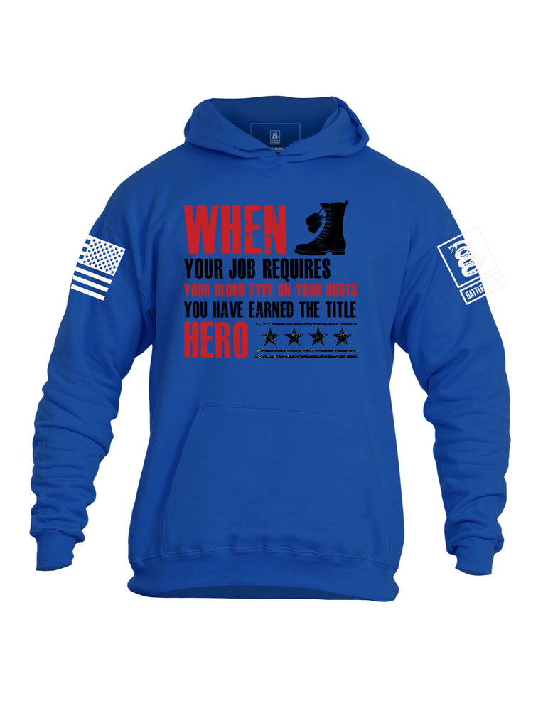 Battleraddle When Your Job Requires Mens Hooded Sweatshirt