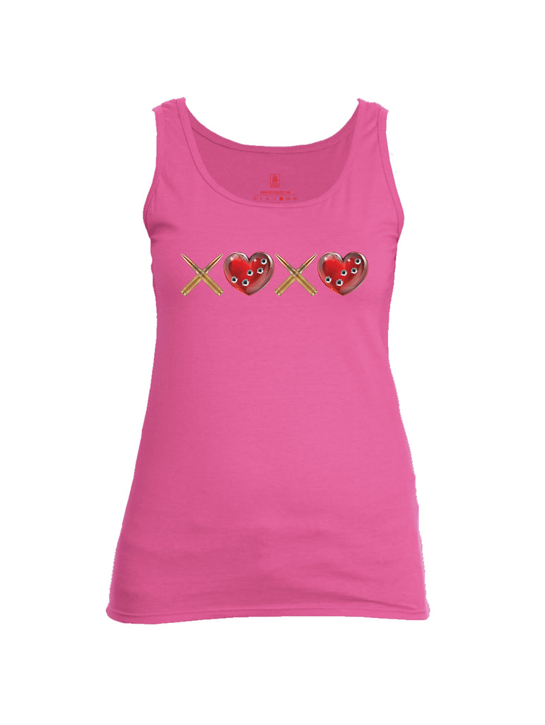 Battleraddle Hugs and Kisses Womens Cotton Tank Top