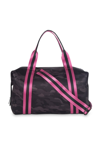 Haute Shore - Elite Weekender Bag (Morgan, Black Camo w/Pink & Black Straps) alt view 1