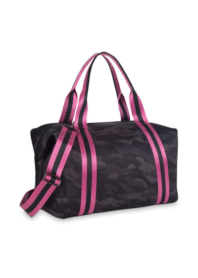 Haute Shore - Elite Weekender Bag (Morgan, Black Camo w/Pink & Black Straps) alt view 2