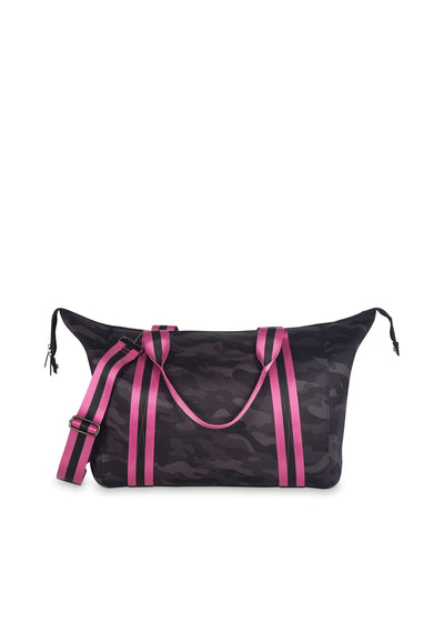 Haute Shore - Elite Weekender Bag (Morgan, Black Camo w/Pink & Black Straps) alt view 5