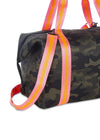 Haute Shore - Trip Weekender Bag (Morgan, Green Camo w/Orange & Pink Straps) alt view 3