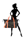 Haute Shore - Trip Weekender Bag (Morgan, Green Camo w/Orange & Pink Straps) alt view 4
